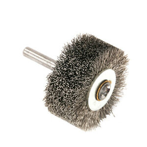 "50mm 2"" Stainless Steel Wire Wheel Brush Polishing Rust Removal Dremel Rotary"