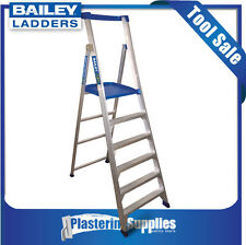 Bailey Platform Ladder P150 1.8m 6-Step Aluminium Stepladder FS13583