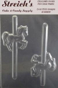 Horse Pony Pretzel Chocolate Candy Molds