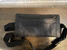 Black Learher Money Belt