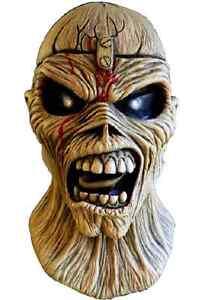 Trick or Treat Iron Maiden Eddie Piece Of Mind Rock Adulte Halloween Masque