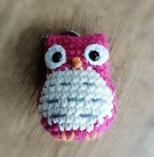 Buho amigurumi de ganchillo crochet hecho a mano nuevo