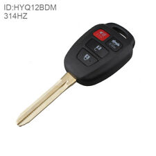 Keyless Entry Remote Car Key Fob G Chip for 2012 2013 2014 Toyota Camry HYQ12BDM