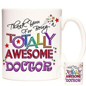 DOCTOR Gift Coffee Mug /Tea Cup. Kazmugz Exclusive. Totally Awesome Doctor