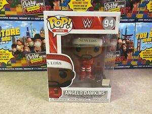Funko POP! NIB Sports WWE Wrestling Street Profits ANGELO DAWKINS #94