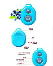 Blue WIRELESS remote shutter for Smartphone tablet I PAD iphone ios andriod APP