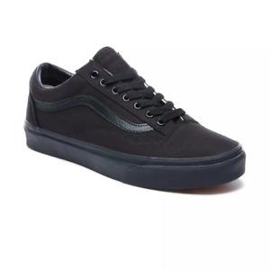 VANS Old Skool  BLACK BLACK- Style: VN000D3HBKA. SPECIAL OFFER £45.99. RRP £60