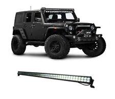 "52"" 300w LED Light Bar High Intensity Spot Lamp JEEP WRANGLER 4X4 SUV"