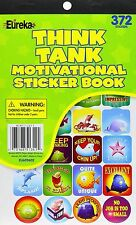 Eureka Think Tank Motivational Sticker Book 372 Reward Stickers Ages 3+