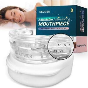Neomen PRO 2 Prevent Bruxism Snore Mouthpiece, Adjustable Snore Stopper
