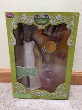 NEW Disney Store Frog Princess Tiana Deluxe Singing Doll 12""