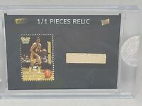 2020 The Bar Pieces of the Past Jerry West Forum Floor 1/1 Los Angeles Lakers