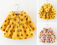 Baby Girl Kid Windbreaker Outwear Coat Cotton Clothing Tops Jacket Tops Clothes