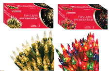 Multi or Clear Colour Bulb Christmas Fairy Tree Lights Xmas Party Decoration