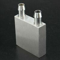 40x40x12mm Aluminum Water Liquid Cooler Block Heatsink CPU Radiator For PC S6J6