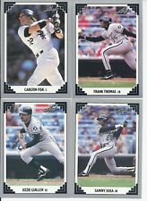 1991 Leaf Chicago White Sox Team Set