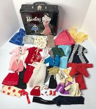 Vintage Barbie Ponytail Case With Clothes by Mattel Inc. 1962 Lot Of Clothes Vtg