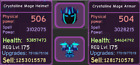 Roblox - Dungeon Quest - Enchanted Forest - Purple - Crystalline - Mage Setup
