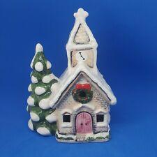 Takahashi San Francisco/Japan Light Up Music Box Christmas Church Silent Night