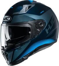 CASCO HELMET CAPACETE MOTO INTEGRALE HJC I70 TAS BLACK BLU TG S