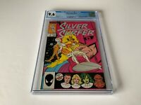 SILVER SURFER V3 1 CGC 9.6 WHITE PAGES ORIGIN SS FANTASTIC FOUR GALACTUS MARVEL