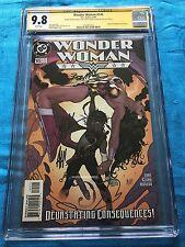 Wonder Woman #145 - DC - CGC SS 9.8 - Signed by Adam Hughes, Clark, McLeod