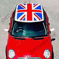 BMW Mini union jack roof decal. Cooper, Mini One, flag.