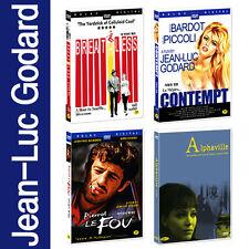Jean-Luc Godard Collection 4-DVD SET *NEW