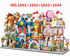 1748 PCS LOZ MINI Blocks Kids Building Toys DIY Puzzle Street Store 1641-1644