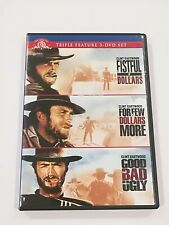 The Good, The Bad & The Ugly/A Fistful of Dollars/For a Few Dollars ( Dvd,2009)