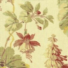 Waverly BRENTWOOD TEASTAIN Floral Foliage Home Decor Drapery Sewing Fabric