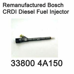 Bosch CRDI Diesel Fuel Injector 1pcs 33800 4A150 for Hyundai Starex Kia Sorento