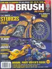 AIRBRUSH ACTION MAGAZINE -S/October 2016 (NEW COPY) *Post included to US/CANADA