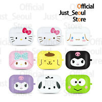 Official Hello Kitty Sanrio Big Face Jelly Airpods Pro Case Cover With Keyring