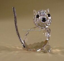 SWAROVSKI CRYSTAL MINI CAT 010011 MINT BOXED RETIRED RARE