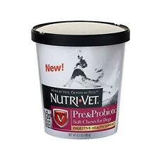 Nutri-Vet Pre And Probiotic Soft Chew, 120 Count