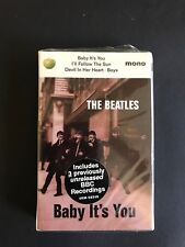 """The Beatles """"Baby It's You"""" Cassette Tape 58348 44 Sealed"""