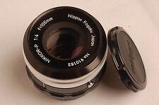 Nikon NIKKOR-P 105mm f4 Bellows Lens w/caps minty #146214