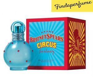 BRITNEY SPEARS CIRCUS FANTASY 100ML EAU DE PARFUM SPRAY BRAND NEW & SEALED
