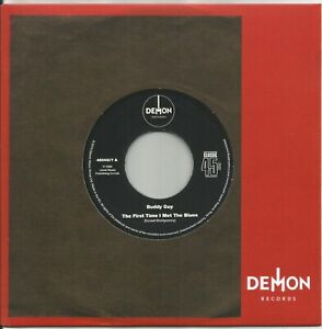 """BUDDY GUY THE FIRST TIME I MET THE BLUES / I GOT MY EYES ON YOU - MINT DEMON 7"""""""