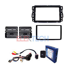 Radio Replacement Interface w/Steering Controls & Dash Mount Kit for GMC/Chevy