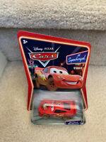 Disney Pixar Cars Movie Lightning McQueen Dirt Track Supercharged Die Cast