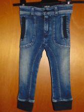 Replay Adj.Waist Cotton Rich Stretch Skinny Cuffed Jeans 18mths 83cm Blue BNWoT