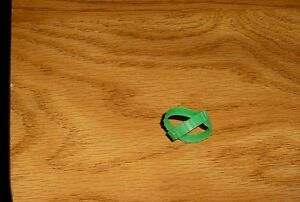 MATCHBOX 1-75 1ST SERIES SET OF GREEN RUBBER TRACKS  DOZER CATAPILLA CRANES ETC.