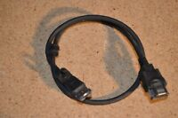 Genuine OEM Dell Latitude E-Series HW563 P022P Black External eSATA eSATAp Cable