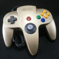 Nintendo 64 N64 Gold Controller japan rare F/s air-packet