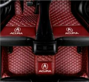 For   Acura TL ILX MDX RDX RLX TLX TSX Luxury custom Auto Car Floor Mats