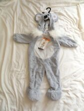 Toddlers  Plush Koala Costume ages 18-24 months Gray