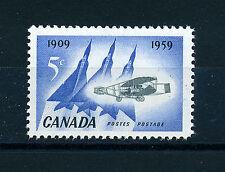 Canada 1959 50th ANNIVERSARIO PRIMO VOLO D'ARGENTO Dart sg509 blocco di 4 Gomma integra, non linguellato