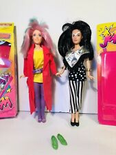 Hasbro Jem And The Holograms Dolls Fashions Doll Stands Green Pumps Misfits Lot